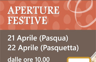 PASQUA – Aperture Festive